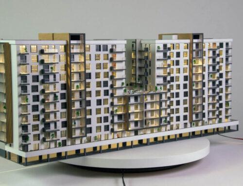 Apartment Building Scale Model – Astorium