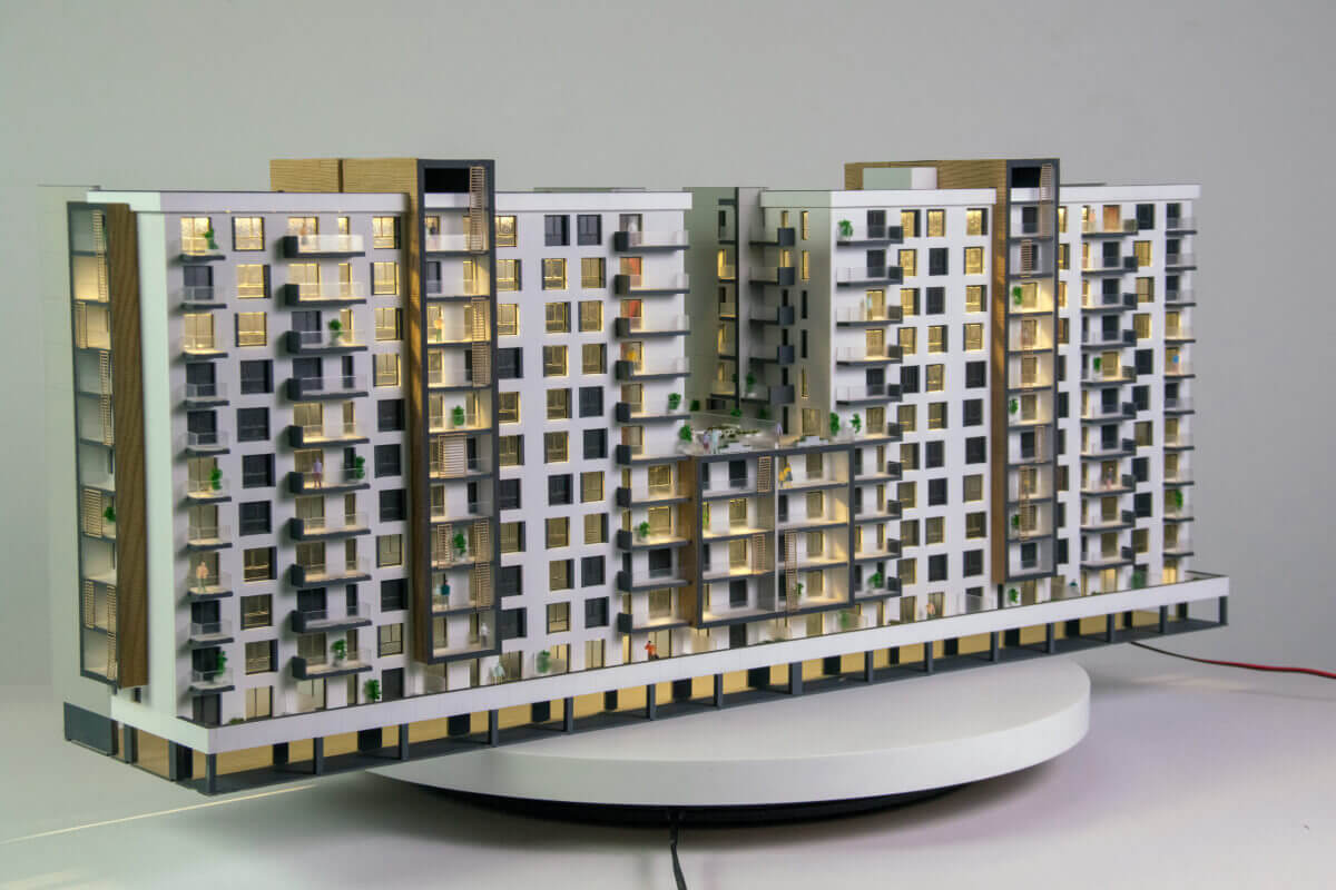 Architectural Model Residential