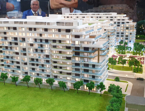 Axxis Nova Resort Architectural Model