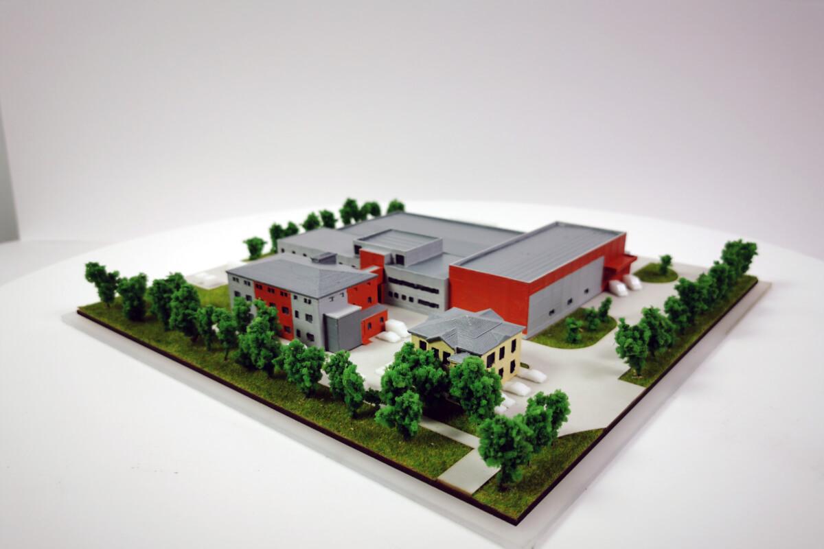 Factory 3D printed Model