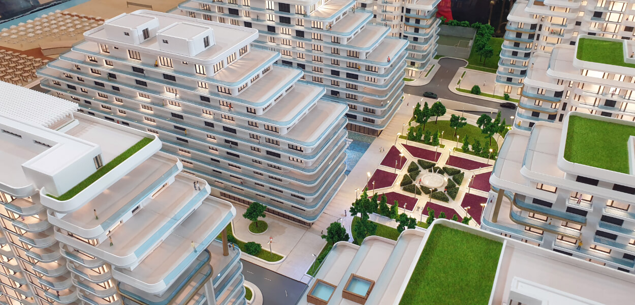 Housing Architectural Scale Models