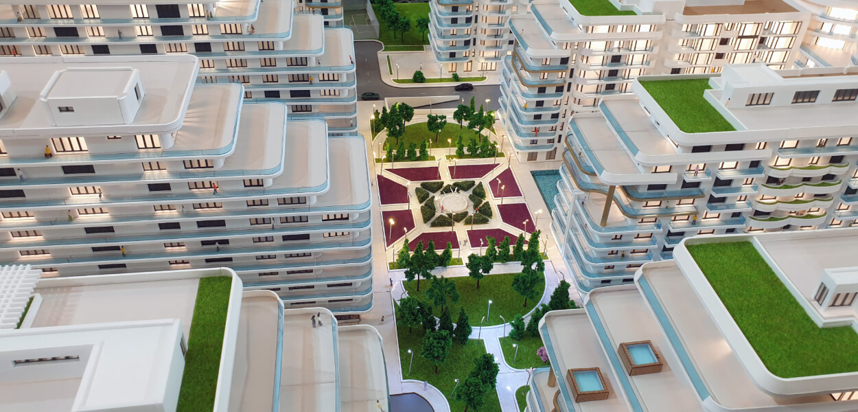 Scale Model for Residential Project